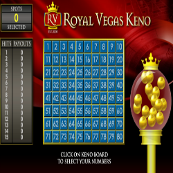Royal Vegas Keno